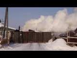Пожар в Нахаловке г.Тюмень